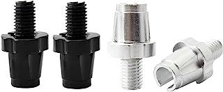 4 件刹车零件杠杆 7 毫米铝合金可调节杆,黑色/银色刹车杆调整螺丝