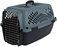 Petmate Pet Porter Fashion Kennel, For Pets 15 to 20 Pounds, Wheat/Coffee Grounds Brown