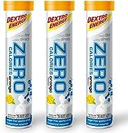 Dextro Energy Zero Calories I 恢复和增强水合作用电解质饮料 0卡路里 0泡腾片 买2免1 (2个橙色 + 1 个免费橙色)
