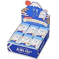 PLUS 橡皮擦 Air in 富士山橡皮擦 日本图案 ER100AIF 12个套装 36-591