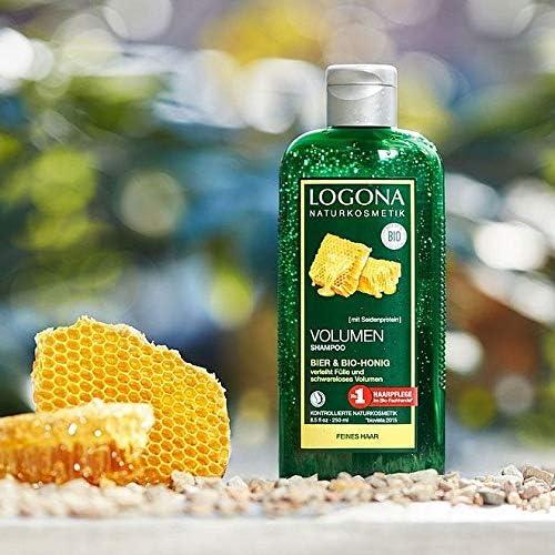 Logona 诺格娜 啤酒&蜂蜜丰盈蓬松洗发水 500ml