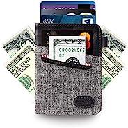 Ebax Minimalist 修身钱包 - 新创意前口袋卡包 带现金和钥匙