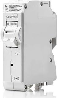 Leviton LB115-S 15 安培,1 极插即用智能标准分支断路器,120 VAC,白色