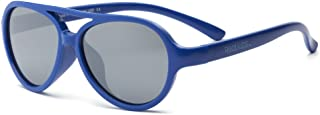 RKS 美国 防紫外线男童女童宝宝儿童太阳镜 建议4岁以上(天空)宝蓝色