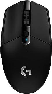 ロジクール ワイヤレス ゲーミングマウス Logicool G304 ブラック 軽量 HEROセンサー LIGHTSPEED FPS