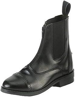 Equistar - 儿童拉链围场靴(全天候)2 黑色
