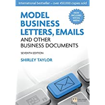 Model Business Letters, Emails and Other Business Documents (English Edition)