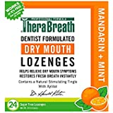 TheraBreath Dentist Formulated Dry Mouth Lozenges, Sugar Fre…