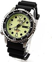 Citizen 男士 PROMASTER 潜水员模拟运动自动手表 NY0040-09WB