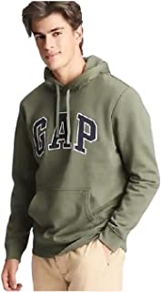 Gap 标志套头连帽衫,带前口袋和拉绳