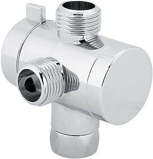 TOPINCN 淋浴分流阀,3 向淋浴头分流器阀连接器适配器家庭浴室配件
