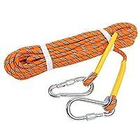 Yaegarden 户外登山绳 20M(64英尺)静电攀岩绳逃生绳登山装备消防绳