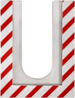 セーフラン(SAFERUN) 标签支架(磁铁型) 120x160mm 亚克力 宽82mm的吊挂标签(厚度为3mm),可用磁铁安装在苯乙烯或车辆上。