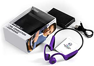 Vibez 露耳无线骨传导耳机   无线蓝牙 5.0 连接   耐汗运动耳机AEBC900008 中 紫色