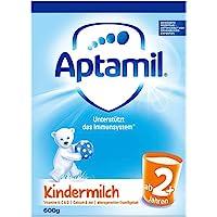 德国Aptamil 爱他美 婴儿配方奶粉2+段(2岁以上) 600g/盒(两种外包装随机发货 德国进口 保税区发货)