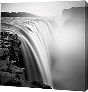 "PrintArt GW-POD-53-WDC40295-20x20""Cold Morning"" by Josef Hoflehner 画廊包边艺术微喷油画艺术印刷品,50.80 cm x 50.80 cm"