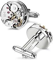 REINDEAR Novel 男士机械手表 可移动移动袖扣
