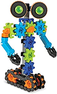 Learning Resources Gears! Gears! Gears! 机器人动作,机器人玩具,工程玩具,STEM,适合 5 岁以上儿童