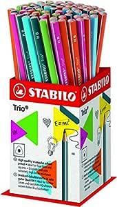 STABILO Trio HB 石墨铅笔 , 各种颜色 ( 72块 ) Pack of 72 分类