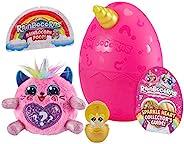 ZURU Rainbocorns Sparkle Heart 惊喜神秘蛋毛绒玩具 - 独角兽 Kitty -