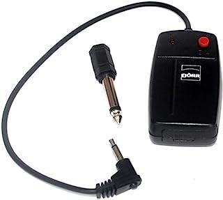 Dörr 无线接收器 E-4B 适用于工作室闪光灯触发器套装 附加或备用黑色