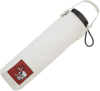 Ogawa 小川 花生漫画 史努比 迷你折叠伞 手动打开式 6根伞骨 附内侧为吸水材质的二合一伞袋 防水