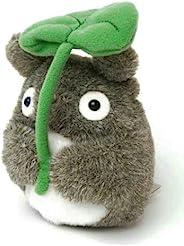 STUDIO GHIBLI 龙猫 蓬松的抛球 大龙猫 握着叶子 玩偶 高度13厘米
