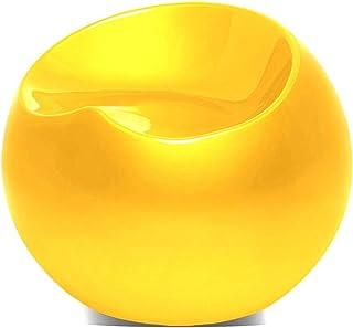Magshion Magshion 现代客厅庭院夜店酒吧鸡尾酒椅客人露背球圆形躺椅玻璃纤维凳椅