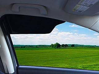 TuckVisor 遮光挡风玻璃遮阳罩汽车遮阳罩遮阳罩遮阳罩遮阳罩延长器 1 件装
