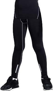 TERODACO 2 件套男孩和女孩压缩裤打底裤足球篮球曲棍球紧身裤
