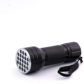 JATSUI UV 灯带 21 个 LED 充电,钓鱼配件,黑色