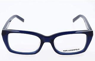 Karl Lagerfeld 女士 Kl8490775018140 眼镜架,蓝色,50