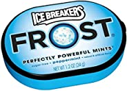 ICE BREAKERS FROST Mints (Peppermint, 1.2-Ounce Containers, Pack of 12)