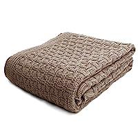 sonnenstrick 100% 有机棉婴儿毛毯德国制造 (40.64cm x 50.80cm) 褐色 40 x 35.5 inch