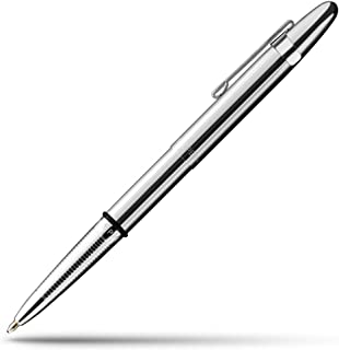 Fisher Space Pen 子彈型筆夾太空筆,鉻色