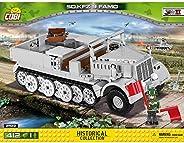 COBI 2522 法莫SD.KFZ.9装甲车 拼插模型,灰色