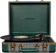 Crosley Executive 复古蓝牙 3 速便携式行李箱,带 USBCR6019D-PNE