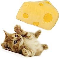 Xqpetlihai 猫玩具 室内猫玩具 猫玩具 猫咪猫咪 可爱玩具 猫咬 牙齿* 互动猫玩具 填充猫薄荷和银藤小猫