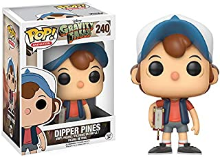 Funko Gravity Falls POP! 动漫杜宾松队乙烯树脂人偶 #240 [常规版],样式可能有所不同