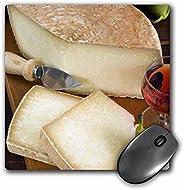 3dRose Cuisines, Pecorino Cheese, 意大利 - EU16 Nto0468 鼠標墊,20.32 cm x 20.32 cm (mp_137930_1)