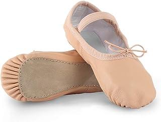 Dance Basix 女式皮革芭蕾鞋