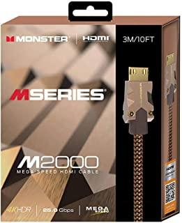 Monster 魔声 MSERIES M2000,HDMI 3M,25GBPS