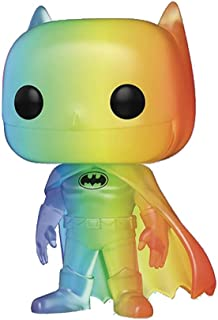 Funko POP!英雄:骄傲 2020 - 蝙蝠侠(彩虹),3.75 英寸