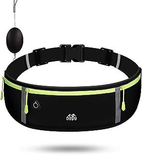 KTT 跑步腰包,可调节手机防水透气跑步腰带,适用于各种手机。(免费个人*警报)