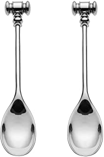 Marcel Wanders for Alessi 做旧蛋杯和吊篮 银色 Egg Hammers set of 2 MW20S2