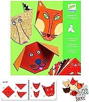 DJECO 动物折纸工艺套件 – 1 级