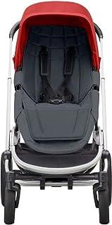 Quinny 高品质 Quinny Hubb 坐垫 适用于 Quinny Hubb Mono 婴儿车座椅 Quinny Hubb Duo 婴儿车座椅或 Quinny VNC 石墨色(灰色)