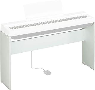 Yamaha雅马哈 L-125WH 数码钢琴支架,白色 – 坚固耐用的支架简约设计 – 适用于雅马哈数码钢琴 P-125