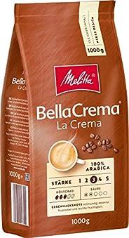 Melitta 咖啡全豆 純阿拉比卡咖啡豆,濃郁平衡,強度3,BellaCrema LaCrema,1kg