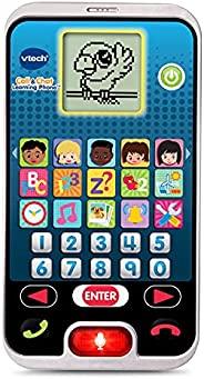 VTech 伟易达 学习电话 通话和聊天,适合儿童,幼儿,男孩和女孩的玩具,2、3、4、5岁的礼物,黑色
